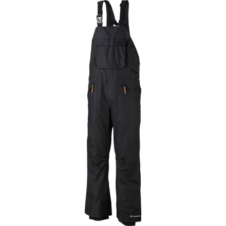 Ski Suit up in style and serious protection with the Columbia Tree Grinder Pant. The Tree Grinder turns its nose up at Mother Nature with Omni-Tech, Omni-shield, and Omni-Heat technologies, designed in a spy-movie style lab in an undisclosed location to make you immune to environmental attacks. - $97.47