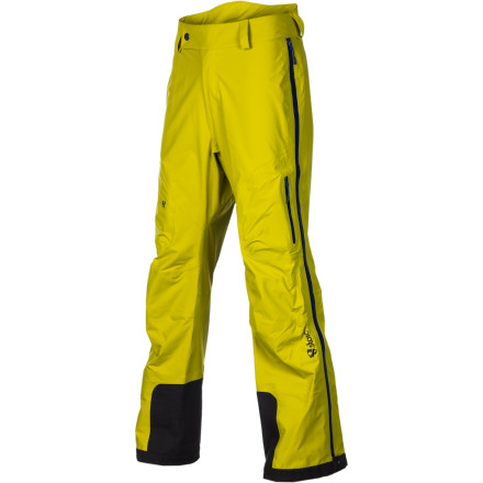 Ski Thrive in the deepest, darkest days of winter when you're wearing the Stoic Men's Bombshell FZ Pant. This is an uncompromising storm-shell pant for skiers and snowboarders who need the protection of waterproof breathable three-layer fabric, supreme mobility, and the easy access of full-length side zips. The only thing that could make this pant better would be fully welded seams and some thigh vents ... oh wait, the Bombshell FZ has those too. - $125.95