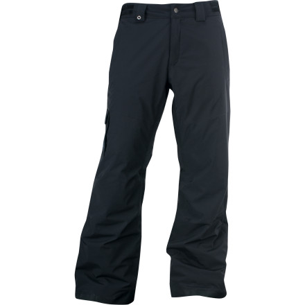 Ski You've long had a reputation for skiing to fast, dipping out of bounds, and heckling from the lift. If you're looking to bolster that resume, it's time you suited up in the Spyder Troublemaker Pant so you can put in plenty of mischievous overtime on the hill. Burly shell fabrics and laminates keep winter weather out, while Thinsulate insulation keeps the heat in and a bellowed cargo pocket holds all your essentials for a day of slope-side pranks. Just don't blame us when ski patrol finally has you cornered. - $123.71