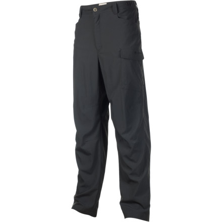 Climbing Whether you're walking the banks of your favorite creek or jumping on a plane to Alaska, the lightweight Redington Copper River Pant has your lower limbs covered. The ripstop nylon fabric is water resistant, quick drying, and highly durable for all your outings in the great outdoors and includes an anti-bacterial treatment so you smell fresh as a daisy after a long flight. - $24.98