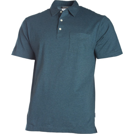 Climbing Your girlfriends parents dont know or care what sending temps are, so when you show up late to dinner, make sure youre sporting the Patagonia Mens Squeaky Clean Polo Shirt. This stretchy organic cotton polo ensures them that youre a scholarly gentleman and not a dirty climbing bum. - $59.00
