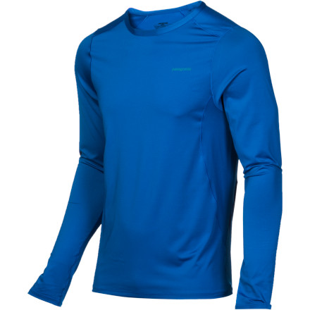 Ski Head out for your next fall run or midwinter skate ski wearing the Patagonia Capilene 1 Silkweight Stretch Crew. Patagonia laced its wicking, breathable Capilene with spandex for superior fit and comfort, and also gave it a Gladiodor treatment to fight funky odors. The seams on this versatile, lightweight top are offset to reduce chafing and give you maximum mobility, while reflective logos front and back enhance your visibility when you've stripped off your fleece midway through a pre-dawn run. - $35.00