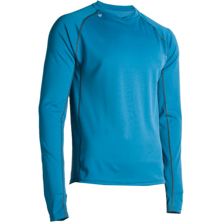 Climbing Your cotton tee is great in-town, but reach for the dynamic and easy-breathing Stoic Men'' 1/2s Breathe Long-Sleeve Shirt when you have ridge-top hiking or a long, muddy trail run in mind. Moisture-wicking Polartec Power Dry fabric puts an end to shivers at the summit, mid-climb chaffing, and overheating on fall trails. Stoic'' 1/2s 3-D ergonomic gives you the freedom to move easily, and flat-locked seams feel nice and smooth when you decide to layer up a little more. - $22.00
