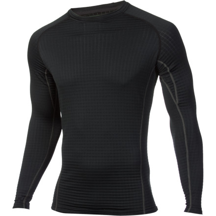 Fitness Once the needle dips below 0 degrees Fahrenheit, it's just butt cold. Since you still want to ski, layering with the heavyweight Under Armour Base 4.0 Crew provides a good base for keeping the worst of winter at bay while you enjoy some fluffy turns on the mountain. - $84.95
