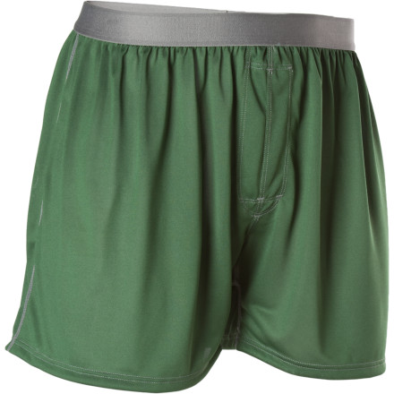 Patagonia has offered the Men's Silkweight Solid Boxer for years, and year after year it's pegged as a favorite among travelers, guides, athletes, and mere mortals alike. An elastic waistband lightly hugs the hips and keeps the breathable, quick-drying fabric in place. Your cotton boxers are out, and this workhorse underwear is in. - $29.00
