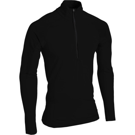 A combination of merino wool and recycled polyester makes the Patagonia Merino 2 LW Zip-Neck the ideal piece for cool-weather layering. Merino insulates even when you get soaked, and the polyester helps the Merino 2 retain its shape, season after season. - $85.00
