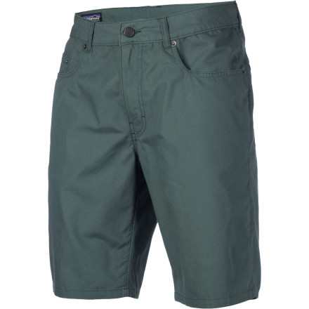 It's easy to see why the Patagonia Men's Guild Short is your go-to-everyday short. This easy-to-wear short features soft organic cotton, a regular fit, a slim leg profile, and a topstitched leg opening that won't fray or fringe. - $29.50