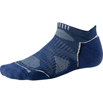 Camp and Hike The SmartWool PhD Outdoor Light Micro Sock satisfies your desire to have a sock at equal height to your shoe cuff, and it utilizes a little more wool than its ultralight counterparts to add a bit of extra warmth and cushion. - $16.90