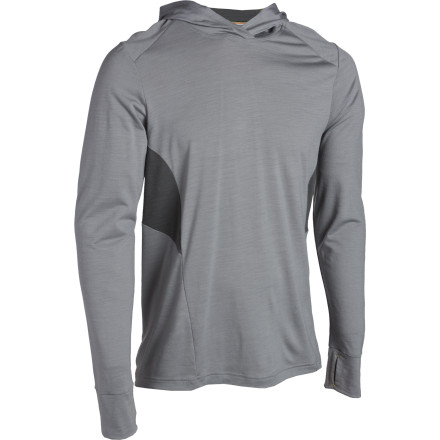 Fitness The SmartWool Teller Hoodie is much more than a regular sweatshirt. Merino wool fabric regulates your body temperature and fights odor to keep you dry and comfortable and to keep your friends from running away. - $60.47