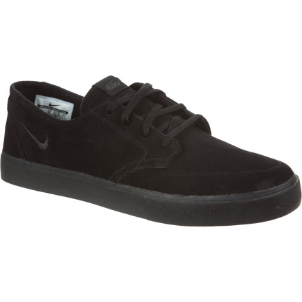 Skateboard Possessing the ability to crank it up to eleven or just play it mellow, the Nike 6.0 Braata LR Skate Shoe looks good and feels good, whether you lace them up tight for action or just rock 'em loose for hahrd-kawr chilling. - $44.07