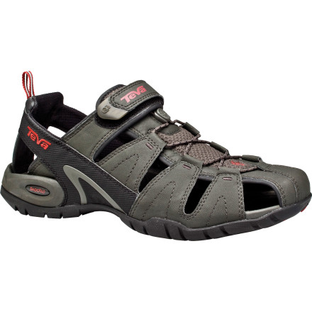 Entertainment Youve never been known to simply sit in your raft, so strap on the Teva Mens Dozer 3 Sandal, scale some rocks, and scope out the overhang you were thinking of jumping off of. - $59.96