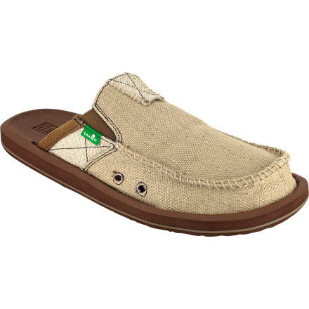 Entertainment The Sanuk You Got My Back II Shoes will always be there for you. They may not bail you out of jail after a string of poor decisions, or spot you a 50-spot when you're short on rentbut they'll damn sure keep your feet feeling awesome every time you put them on. - $64.95
