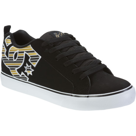Skateboard When you get a pair of the DC Men's Court Vulc SE ARF Skate Shoes, you don't just get a tacky sole, smooth upper, and iconic DC logo ... you get to be a part of that 'something bigger' thing that you never find time for. - $32.50