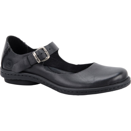 Why put your feet through the aches and pains of high heels when the Born Shoes Women's Aronica Shoes go with your skirts and dresses' These down-to-earth shoes provide style, comfort, support, and cushioning so you don't have to sit down, kick off your shoes, and rub your feet due to discomfort. - $68.22