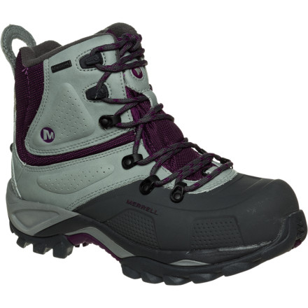Entertainment Merrell took no chances when it created the Women's Whiteout 8 Waterproof Boot, throwing in a host of insulating and waterproofing features to make sure your feet stay warm and dry on your next snowy excursion. As you break trail in your snowshoes through the canyon or stomp through the fresh snow on your favorite dog-walking path, enjoy the warmth and the unique fit of the Whiteout boot. - $94.25