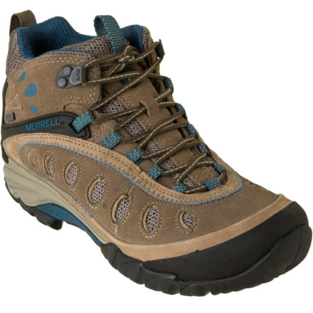 Camp and Hike Small stream crossovers, muddy terrain, steep, rocky trails, and Mother Nature dont stand a chance against the Merrell Womens Chameleon Arc 2 Mid Waterproof Boot. Why' Because of its durable construction, waterproof membrane, and QForm Comfort EVA midsole that provides womens-specific cushioning with each stride you take on the trail. - $64.98