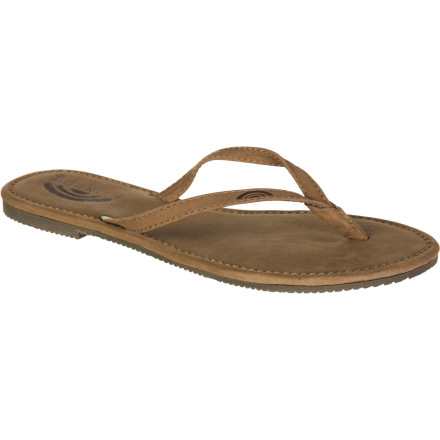 Surf The Rainbow Women's Tango Sandal is great for summer outings with the girls when you want a sleek, casual look and all-day comfort. - $29.95