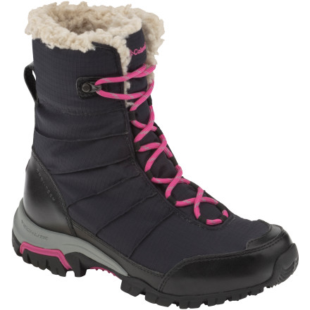 Camp and Hike Columbia hid a lot of technical features in the fun, stylish Snolucky Boot, so it's just as useful for snowshoeing or winter hiking as it is for window-shopping up and down the streets of a snowy mountain town. - $71.97