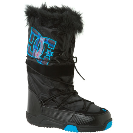 Skateboard Pair the DC Chalet 2.0 SE Boots with tights, a winter mini, and a sleek sweater. - $57.00