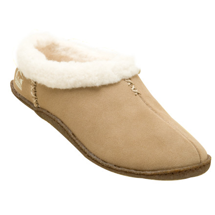 Entertainment Think of the Sorel Womens Nakiska Slipper as a russian shapka for your feet. A cozy wool-acrylic lining warms them up after a day on the mountain without even using vodka. A removable molded EVA footbed cushions your feet in comfort as you shuffle around the lodge quoting Dostoevsky and Tolstoy. - $58.46