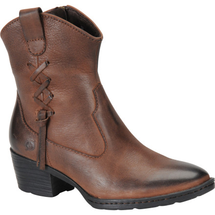 Entertainment You may not barrel race on your free time or even own a horse, but you definitely can appreciate the look and comfort of the Born Women's Karin Boot. - $97.47