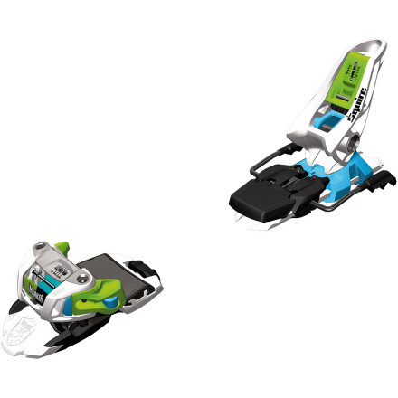 Ski The Marker Squire Binding answers the call of the freeskier who loves pow, but will follow or lead friends anywhere they want to go. Lightweight, versatile, and energy-efficient, this is the binding that will keep them by your side. - $113.40