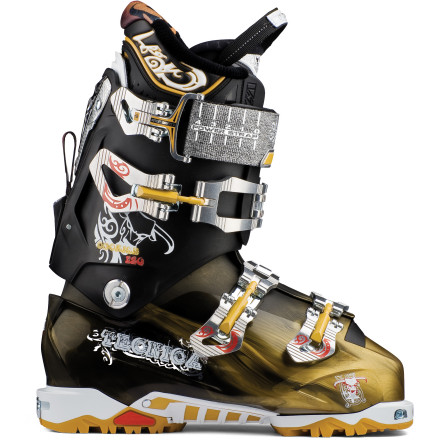 Ski You can't ski the big lines if you sacrifice big-mountain performance for backcountry-specific gear. That's why Tecnica developed the stiff and capable Cochise Boot with an interchangeable sole design so you can rally up and down with either the AT tech bindings or regular DIN binders. While being stiff and ready to smear turns down big backcountry faces, this boot's walk-hike mode and tech-binding compatible sole means you can skin back up for seconds without wishing you'd chosen a different touring setup. - $487.49