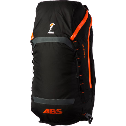 Ski Dont squash your crusty baguette or bota bag or leave your expedition puffy at home. Instead,  take them with you in the capacious ABS Vario 25 Cover that zips onto your ABS Vario Base Unit with dual-airbag system. With carrying straps for your board(s) and helmet and compartments for your shovel, probe, and hydration system, theres enough unclaimed space for gear needed on longer tours and other 'essentials. - $95.96