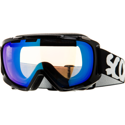 Ski Put on the Scott Fix Goggle and open your eyes to a whole new world. Scotts No Fog treatment and venting make the Fix fog-proof, even after a hot hike to the summit or a quick piss in the lodge. When you drop that billy-goater line, the Spherical Scott Optiview Double lenses let you see your next turns clearly, without any lens distortion. - $59.97