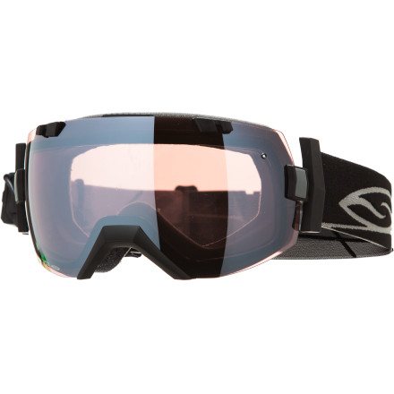 Ski Welcome to the next evolution of over-the-glasses snow goggles. The Smith I/OX Goggle combines the latest frameless styling with every anti-fogging technology in its arsenal, including the redesigned Elite Turbo Fan. That means your goggles don't fog and your glasses don't fog so you can see all the ladies checking out your fancy modern style. It also means you won't spend another season slamming into trees. The folks at the local ER will miss you. - $274.95