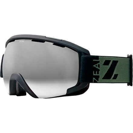 Ski From the sharp lines of its unique frame to the razor-sharp performance of its photochromic lens, the Zeal Slate Goggle stands alone. Zeal's designers shaped the unique frame shape to allow for maximum peripheral vision and create an angular nose bridge that sits comfortably on your schnoz, even if you're moving your head around constantly while checking slope conditions. And, thanks to ample venting and lens tech that automatically adjusts to match light conditions, this is a goggle you trust for crystal clear vision from the darkness of the early season through the brightest days of spring. - $159.00