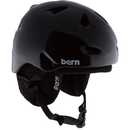 Snowboard Dont drag your dome around all day. The Bern Brentwood Zip Mold Helmet protects your head without making it feel like a lead balloon. This lightweight, crazy-comfy bucket features a removable liner, so you never have to put your brain in danger while you ollie, jib, huck, or scuff. - $54.98