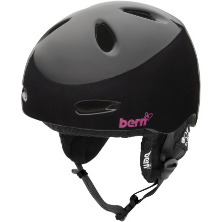 Snowboard Taking a hit to the head without protection is going to make it hard to get into a school like the one this helmet shares a name with. Good thing Bern used super-tough Zipmold foam in the Berkeley Women's Helmet with Knit Liner, so now you can get up after a rough slam and still be able to study (or speak, for that matter) tomorrow. Plus, its low-profile fit and stylish design will still have the boys staring as you drop into the big jump line. - $74.96