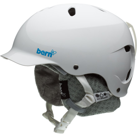 Snowboard For the most protection you can have without skiing in a football helmet, the Bern Women's Lenox Helmet with the HardHat multiple-impact shell is about as good as it gets. Bern loaded the Lenox with protection, but it didn't skimp on style, either. On top of good looks, the removable knit liner can be removed for summer use in the skate park. - $59.97