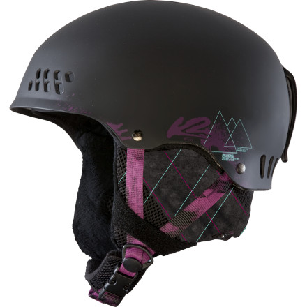 Snowboard Whether you're cruising around, scouting out potential hits, or sniffing for powder, let the K2 Emphasis Helmet be your brain's protector. This low-profile hard-shell helmet features an Active Venting system that helps you keep a cool head on the slopes and a Level 2 Baseline Audio system that allows you to crank your tunes when you're sending steep, techy lines. And if that isn't enough, you'll definitely dig its washable Full-Wrap Liner system and removable bandana. - $99.95