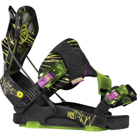 Snowboard Flow designed the NX2 SE for riders who like to hit up the whole mountain and know what they're doing. The SE is the softest-flexing of the NX2 line, so it's comfortable in the park as well as hardpack and deep backcountry snow. - $231.99