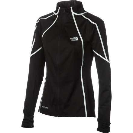 Fitness Why train inside on a treadmill all winter when you have The North Face Women's Apex ClimateBlock Jacket' This versatile softshell features windproof technology, a stretchy comfortable fit, and moisture-wicking fabric that keeps you ready to tackle life both on and off the trail. - $127.96