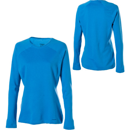 Fitness Stay out longer and play in the cold with the Patagonia Womens Capilene 3 Crew. This long-sleeve, \374ber-warm shirt adds crucial warmth to your layering system for wicked cold days on the hill. This sweet base layer fights odors with an all-natural Gladiodor odor treatment, wicks moisture, and dries quickly so youre comfy all day long. - $34.30