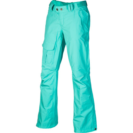 Ski Slip into The North Face Women's Shawty Pant if you're the type of gal who skis or rides bell to bell. This pant uses strategically placed insulation, inner thigh vents, and HyVent 2L to make sure you stay comfortable throughout ever-changing winter weather conditions. - $111.97