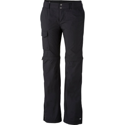 Camp and Hike If the zip-off lower-leg style of convertible pants doesn't appeal to you but the option to get a bit cooler does, then the Columbia Women's Silver Ridge Convertible Straight Leg Pant is sure to satisfy. - $47.96