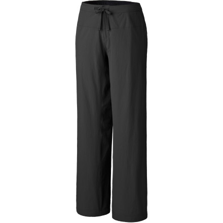 Camp and Hike Venture out on the trail with the Mountain Hardwear Women's Yumalina Fleece-Lined Pant. Equipped with a DWR coating, cozy micro-fleece lining, and a relaxed fit, the Yumalina keeps your legs going while you hike, boulder, or climb in chilly weather. - $51.97