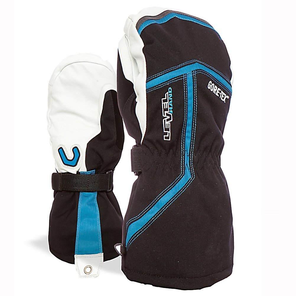 Ski With the Heli XCR Ski Mitt you'll have a high performance glove packed with technology and features sure to keep you protected on the mountain. Starting with the Thermoliner - this is a soft and less bulky blend of fibers that trap air for more warmth. Thermo-Plus 4000 is guaranteed to keep you warm. How so? A combination of right shape, insulation and waterproof technology is applied to keep in the right amount of heat retention inside the glove and will keep you warm even in temperatures at -15 degrees. Finally, Gore-Tex. This high performance insert has exceptional durability, water proofness and breathability and is capable of maintaining the ideal temperature for you hands. The relaxed fit and awesome technology make the Level Heli XCR Ski Mitt one of the best.  Gore-Tex,  Warm-Max Insulation,  Special Storm Leash with Carabineer,  Removable Liner: Yes, Material: Gore-Tex, Warranty: One Year, Battery Heated: No, Race: No, Type: Mitten, Use: Ski/Snowboard, Wristguards: No, Glove Outer Fabric: Synthetic, Waterproof: Yes, Breathable: Yes, Pipe Glove: No, Cuff Style: Over the cuff, Down Filled: No, Glove Quality: Best, Glove Weather Condition: Frigid, Glove/Mitten Insulation: Synthetic, Model Year: 2017, Product ID: 290924, Model Number: 2065UM.35 8, GTIN: 8059070697469 - $139.99