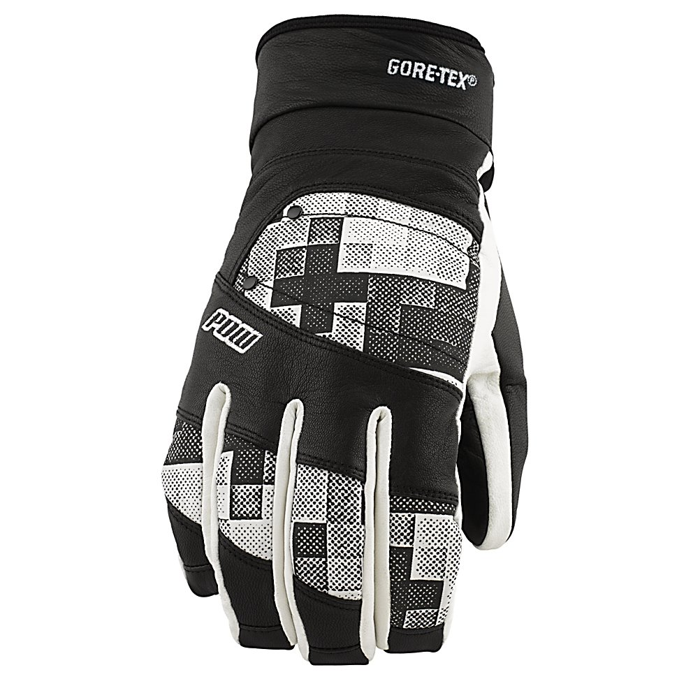 Ski POW Royal GTX Gloves - The Queen demands perfection when it comes to gloves for the winter. The POW Royal GTX is built tough and strong so that you can hit the mountain even on the harshest of days. The POW Royal GTX glove is constructed of Goat Skin Leather which is water-resistant to keep the precipitation and snow from seeping in. Gore-Tex inserts are going to make the Royal GTX waterproof. Premium anti-pill insulation is going to keep your hands warms all day long while the Ultra Magic no snag technology allows for easy on and off of the glove. If you think your royalty then the POW Royal GTX is just the glove for you. Features: Closure- Ultra Magic no snag technology. Removable Liner: No, Material: Goatskin Leather, Warranty: One Year, Battery Heated: No, Race: No, Type: Glove, Use: Ski/Snowboard, Wristguards: No, Outer Material: Leather, Waterproof: Yes, Breathable: No, Pipe Glove: No, Cuff Style: Under the cuff, Down Filled: No, Touch Screen Capable: No, Model Year: 2013, Product ID: 292613 - $80.00