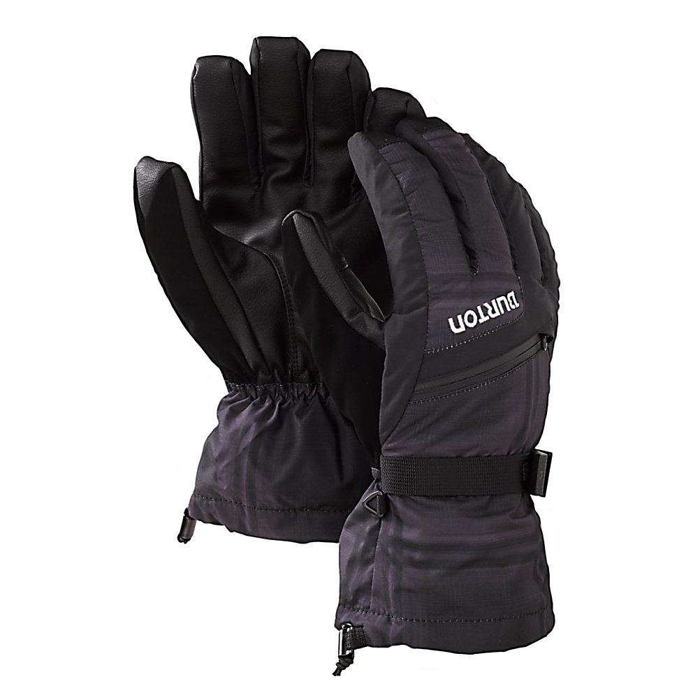 Snowboard Burton GORE-TEX Gloves - The Burton GORE-TEX Snowboard Gloves are packed with tons of features to keep those hands warm, dry and comfortable as you're tearing it up on the mountain. Designed with DRYRIDE Ultrashell you'll have a breathable fabric on the exterior and a GORE-TEX Membrane to ensure you have plenty of protection against wind and water. The Thermacore Insulation will help trap the heat inside the gloves while ensuring that you still have plenty of mobility in your hands. A removable 4-Way Stretch DRYRIDE Thermex Liner is quick-drying and is great at wicking away moisture plus you can use it separately on those much warmer ski days. For added comfort, the Burton GORE-TEX Snowboard Gloves have a pre-curved ergonomic fit. Versatility, durability and comfort and all things you can count on when you ride with the Burton GORE-TEX Snowboard Gloves. Features: Toughgrip Palm, Ergonomic Pre-Curved Fit, Hidden Heater/Vent Pocket. Removable Liner: Yes, Material: DRYRIDE Ultrashell, Warranty: One Year, Battery Heated: No, Race: No, Type: Glove, Use: Ski/Snowboard, Wristguards: No, Outer Material: Nylon, Waterproof: Yes, Breathable: Yes, Pipe Glove: No, Cuff Style: Over the cuff, Down Filled: No, Touch Screen Capable: No, Model Year: 2013, Product ID: 289403, Shipping Restriction: This item is not available for shipment outside of the United States. - $69.95