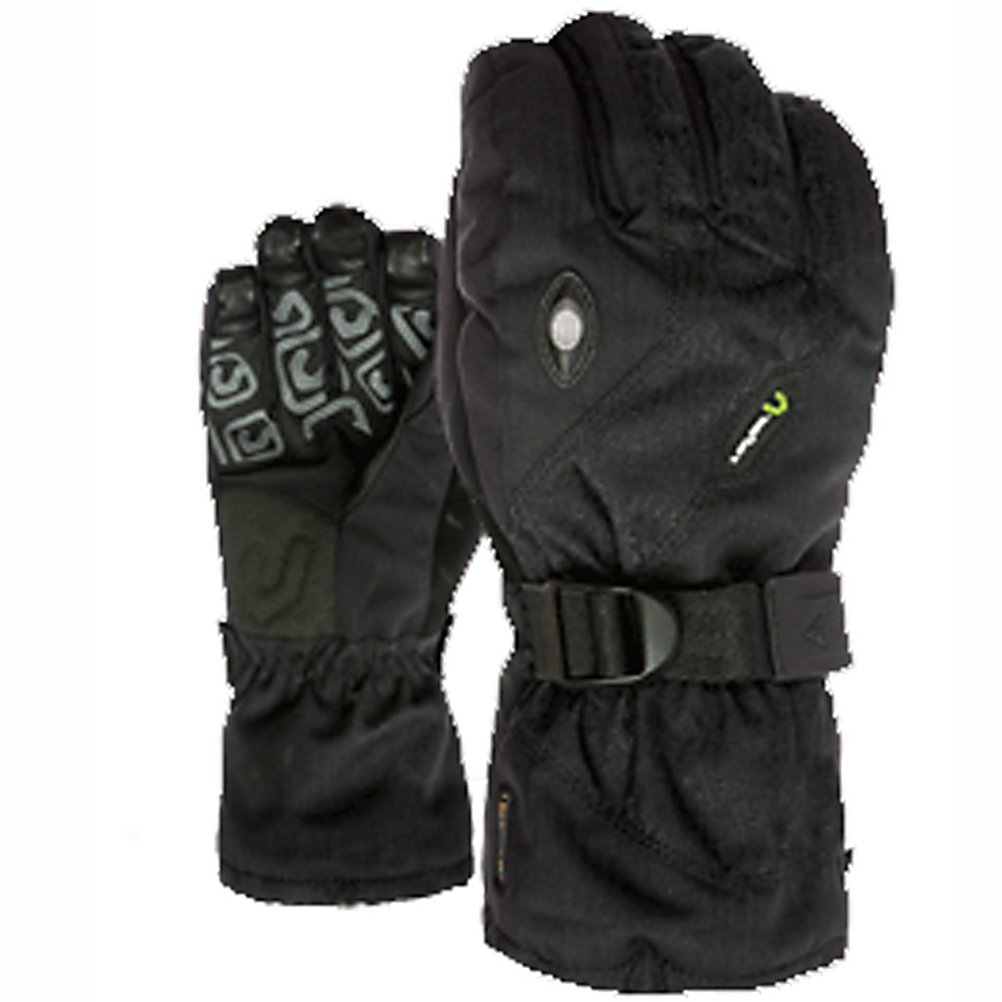 Snowboard Level Star Plus Gloves - The Level Star Plus Glove is the perfect glove for any snowboarder on any mountain. Keeping your hands warm is the Membra-Therm Plus membrane which is a water resistant fabric that optimizes warmth and comfort by keeping your hands dry. Thermo-plus 3000 technology certifies the Star Plus Glove in temperature up to -15 degrees. The removable liner inside the glove can be worn by itself on your warmer slushy days. The Level Star Plus Glove is the perfect glove for any rider that wants warmth, without the need for hand warmers. . Removable Liner: Yes, Material: Thermo-Plus, Warranty: One Year, Battery Heated: No, Race: No, Type: Glove, Use: Ski/Snowboard, Wristguards: No, Outer Material: Nylon, Waterproof: No, Breathable: Yes, Pipe Glove: No, Cuff Style: Over the cuff, Down Filled: No, Touch Screen Capable: No, Product ID: 290941, Model Year: 2013 - $59.91