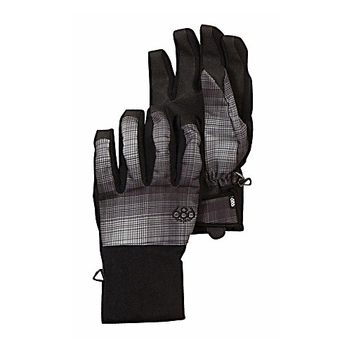 Snowboard 686 Forecast Pipe Gloves - The 686 Forecast Pipe Glove will hook you up with a look that blends with your snowboard outerwear as you keep warm practicing your sport. The foam padding brings on comfort and the Velcro adjustable cuff tab offers a personal fit. The pre-curved full finger grip and sand grip anti-slip palm reinforcement puts you in a position of taking your activity to the next level. The 686 Forecast Pipe Glove can handle temps at low forecast readings - you will be prepared for the unexpected weather conditions as you are warm, dry and protected. . Removable Liner: No, Material: Poly Oxford, Warranty: Other, Battery Heated: No, Race: No, Type: Glove, Use: Ski/Snowboard, Wristguards: No, Outer Material: Softshell, Waterproof: Yes, Breathable: Yes, Pipe Glove: Yes, Cuff Style: Under the cuff, Down Filled: No, Touch Screen Capable: No, Model Year: 2013, Product ID: 292343 - $40.00