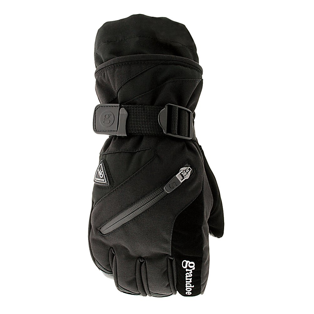 Ski Grandoe Tundra Womens Ski Womens Ski Gloves - When you need a tough glove to withstand the winter elements, the Tundra glove will do the trick. The Tundra is a sleek, form fitting, warm and comfortable glove. This durable glove by Grandoe is part of the V6 comfort collection. This means that it not only will keep you warm and toasty when you are out there skiing or performing other snow related activities, but it will keep you comfortable while doing so. The Tundra gloves are made with 6 variable comfort zones. They also have a stash pocket as well as a Dri-Gard waterproof and breathable insert. . Removable Liner: No, Material: GX4 and MicroVortex, Warranty: One Year, Battery Heated: No, Race: No, Type: Glove, Use: Ski/Snowboard, Wristguards: No, Outer Material: Nylon, Waterproof: Yes, Breathable: Yes, Pipe Glove: No, Cuff Style: Over the cuff, Down Filled: No, Model Year: 2012, Product ID: 245594 - $49.98