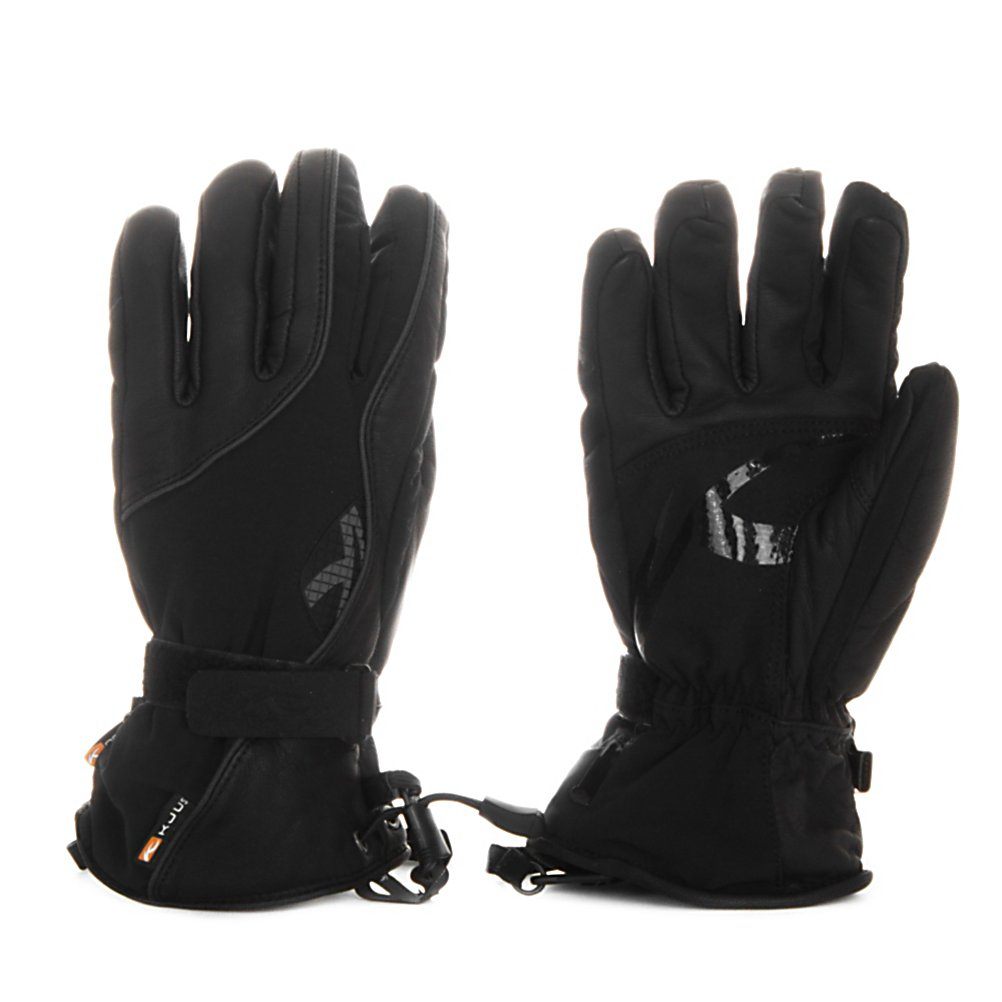 Ski KJUS J Womens Womens Gloves - From the ski hill to your other favorite outdoor winter activities, this pair of Kjus Womens J Gloves is the best for your performance benefits, material and quality. The shell and palm combination of materials offers you excellent abrasion and water resistance without compromising breathability, dexterity or grip while on the slopes or in the pipe. When the temperatures are cold, the Primaloft insulation is ideal for the cold weather, it is also light in weight, breathable and proven to repel water, so you remain dry, warm and comfortable no matter what mother nature throws your way. The premium silk lining has the natural properties of silk combined with modern finishing technologies that will provide you with superior hand feel and comfort. The 5 finger philosophy of warmth and temperature regulation, grip and fit, protection, innovation, design and quality wraps up what Kjus has created in this pair of J Gloves just for women. Features: New Cuff Construction, Eskimo Hood Finger Lining, Silicone Grip Application, Shell Material: 87% Polyester, 13% Spandex, Palm Material: 100% Goat Skin Leather, Membrane Material: K Dry, Lining Material: Light Boa (65% Acrylic, 35% Polyester), 100% Silk, Insulation Tophand Material: 266g PrimaLoft Stretch (100% Polyester), Insulation Palm Material: 133g PrimaLoft Stretch (100% Polyester). Removable Liner: No, Material: 4-Way Stretch Fabric, Warranty: One Year, Battery Heated: No, Race: No, Type: Glove, Use: Ski/Snowboard, Wristguards: Yes, - $79.49