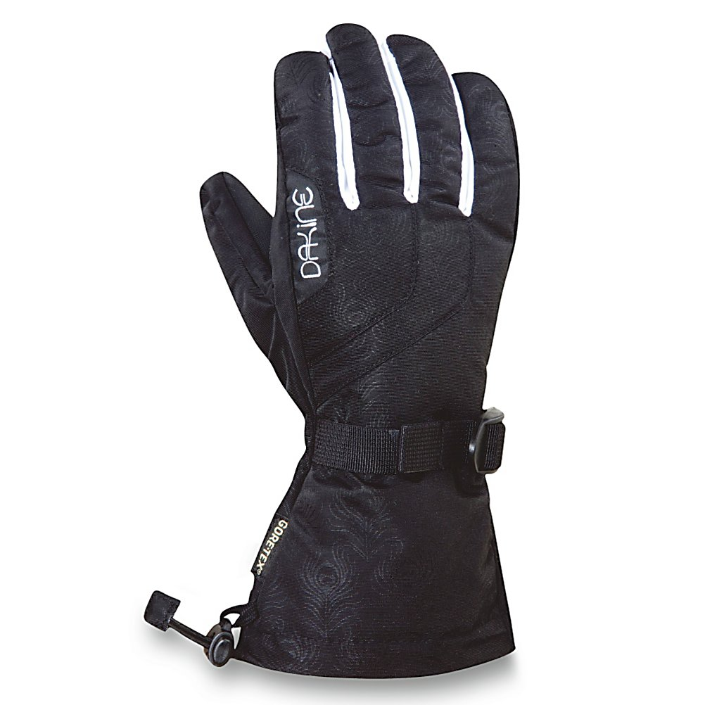 Ski Dakine Omni Womens Ski Womens Gloves - When you wear the Dakine Omni Ski Gloves you'll know you have a high-quality glove that is built to last some of the harshest conditions on the mountain. Its Gore Tex Insert ensures high waterproof rating and breathability. This insert also prevents moisture from seeping in and even removing the moisture from inside to help keep your hands as dry and comfortable as possible. The high loft insulation resists moisture in wet conditions and helps hold the heat inside so that your fingers and palm remains toasty warm. You'll have a Rubbertec Palm to ensure a solid grip on poles or the board and One Hand Cinch Gauntlet to make tightening up the gloves a breeze. Nose and Goggle Wipe Thumb Panels helps keep your nose and goggles clear and an internal heat pack pocket is the perfect place to stash a glove warmer on those icy cold winter days. Check out the styles of the Dakine Omni Ski Gloves and look good and feel comfy the next time you head out to the slopes. Features: Nose and Goggle Thumb Wipe, Internal Heat Pack Pocket. Removable Liner: No, Material: Finished with DWR treatment, Warranty: Lifetime, Battery Heated: No, Race: No, Type: Glove, Use: Ski/Snowboard, Wristguards: No, Outer Material: Nylon, Waterproof: Yes, Breathable: Yes, Pipe Glove: No, Cuff Style: Over the cuff, Down Filled: No, Touch Screen Capable: No, Model Year: 2012, Product ID: 273516 - $39.94