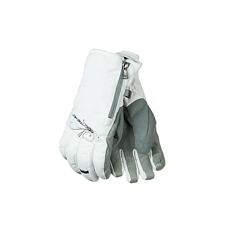 Ski Obermeyer Alpine Womens Gloves - The Obermeyer Alpine Glove is an excellent choice for whatever outdoor activity you like to do. This glove will keep you both warm and dry. The Alpine glove is filled with synthetic insulation to keep your hands toasty no matter what the weather is bringing. The Alpine Glove has a fabric of polyester with HydroBlock to repel water leaving your hands very dry. The Alpine glove also comes with a ski contour fit which will come in handy when you want to keep the snow out. The Obermeyer Alpine Gloves keeps your hands toasty warm and won't ruin a great powder day. . Removable Liner: No, Material: Polyester, Warranty: Lifetime, Battery Heated: No, Race: No, Type: Glove, Use: Ski/Snowboard, Wristguards: No, Outer Material: Softshell, Waterproof: Yes, Breathable: Yes, Pipe Glove: No, Cuff Style: Under the cuff, Down Filled: No, Touch Screen Capable: No, Model Year: 2013, Product ID: 279958 - $54.50